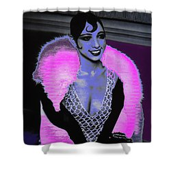 Josephine Baker The Original Flapper Shower Curtain