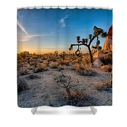 Joshua's Sunset Shower Curtain