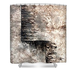 Journey Shower Curtain by Holly Anderson