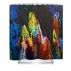 Journey Shower Curtain by Janice Nabors Raiteri