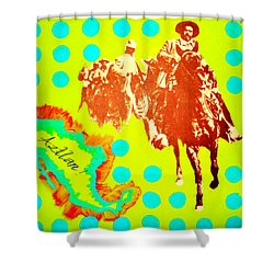 Journey To Aztlan Shower Curtain