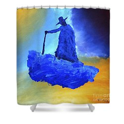 Journeyman Shower Curtain