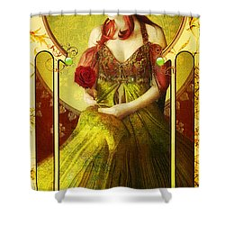 Joy Faith Hope Love Iv Shower Curtain