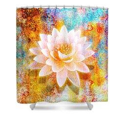 Joy Of Life Shower Curtain by Jaison Cianelli