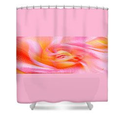 Joy - Rose Shower Curtain