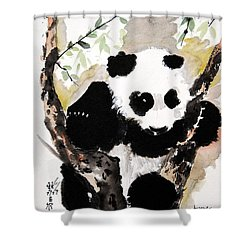 Joyful Innocence Shower Curtain by Bill Searle