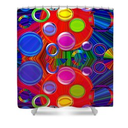 Shower Curtain featuring the photograph Joyous by Tina M Wenger