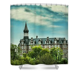 Jubilee Hall At Fisk University - Nashville Tennessee Shower Curtain