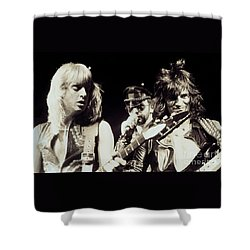 Judas Priest At The Warfield Theater During British Steel Tour - Unreleased And Never Seen  Shower Curtain