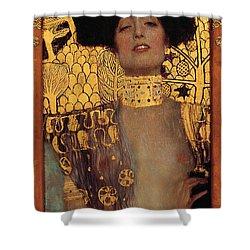 Judith Shower Curtain by Gustive Klimt