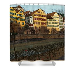 Judith's Walk Shower Curtain