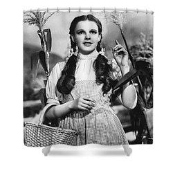 Judy Garland As Dorothy Shower Curtain