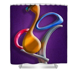 Juggling Act Shower Curtain by Paul Wear