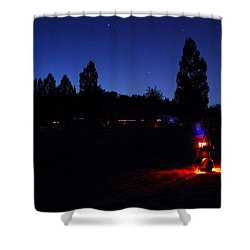 Julian Night Lights 2013 Shower Curtain