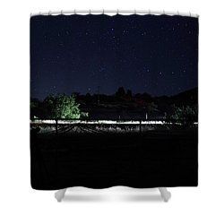 Julian Night Sky Shower Curtain