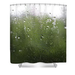 Shower Curtain featuring the photograph June by Alex Blondeau