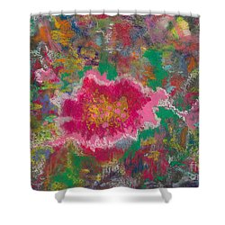 Jungle Flower Shower Curtain