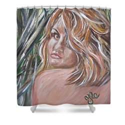 Jungle Nymph Shower Curtain