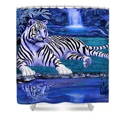 Jungle Tiger Shower Curtain