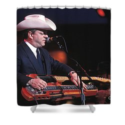 Junior Brown Shower Curtain by Concert Photos