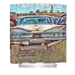 Junkyard Series 1960's Chevrolet Impala Shower Curtain