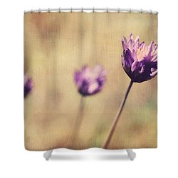 Just A Breath Away Shower Curtain by Laurie Search
