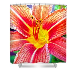 Just Another Day Lilly Shower Curtain