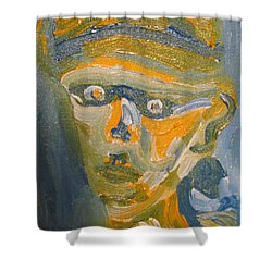 Just Another Face Shower Curtain