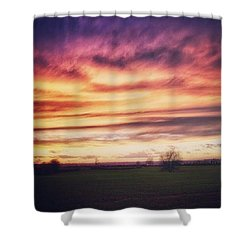 Just Another Sunset :) Shower Curtain