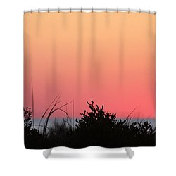 Just Before The Sunrise Shower Curtain
