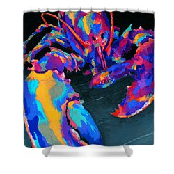 Just Claws Shower Curtain by Stephen Anderson