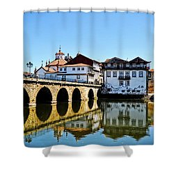 Just Driving By Shower Curtain by Mary Machare