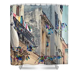 Just Like A Waving Flag.. Shower Curtain