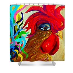 Just Plain Silly 2 Shower Curtain