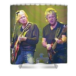 Justin Hayward And John Lodge Shower Curtain