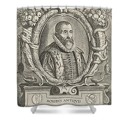 Justus Lipsius, Belgian Scholar Shower Curtain by Photo Researchers