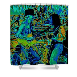 Jwinter #5 Enhanced Colors 1 Shower Curtain by Ben Upham