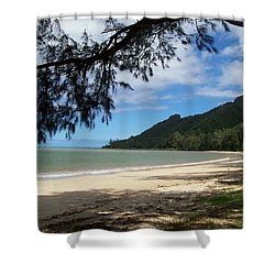 Ka'a'a'wa Beach Park Shower Curtain