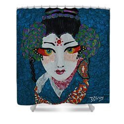 Kabuki Shower Curtain