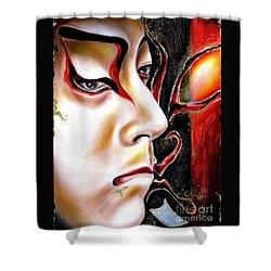 Kabuki Three Shower Curtain