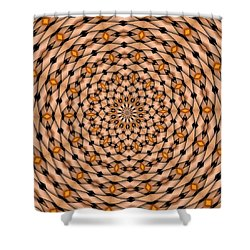 Kaleidoscope 1 Shower Curtain