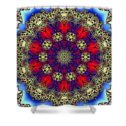 Kaleidoscope 51 Shower Curtain