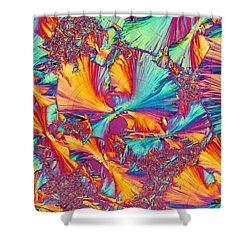 Kaleidoscope K Shower Curtain