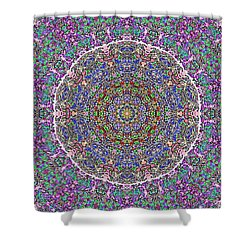 Shower Curtain featuring the photograph Kaleidoscope by Robyn King