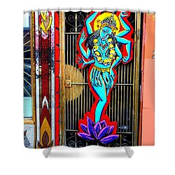 Kali In Color Shower Curtain