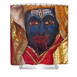 Kali Maa - Glance Of Compassion Shower Curtain