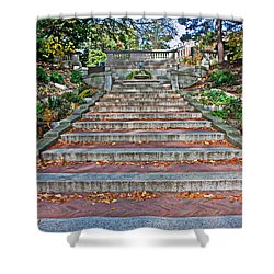 Kalorama Spanish Steps Shower Curtain