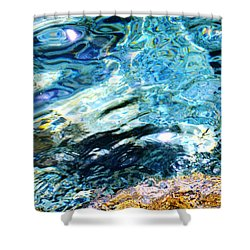 Kanaloa Abstract Shower Curtain