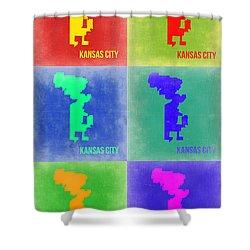 Kansas City Pop Art 1 Shower Curtain