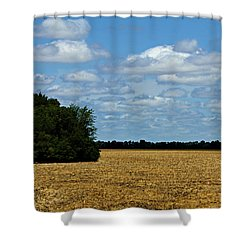 Kansas Fields Shower Curtain